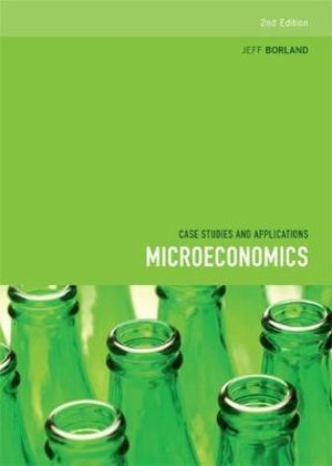 Cover of Microeconomics : Case studies and applications