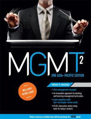 Cover of MGMT2: Asia Pacific Edition with Student Resource Access 12 Months
