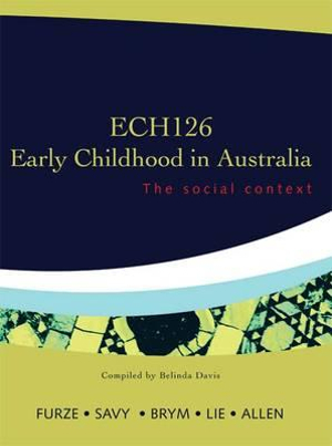Cover of ECH126 Early Childhood in Australia