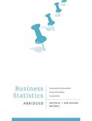 Cover of Business Statistics - Abridged  : Australia New Zealand