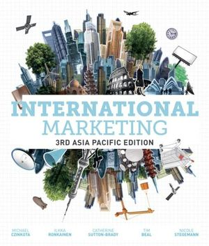 Cover of International Marketing : Asia Pacific Edition