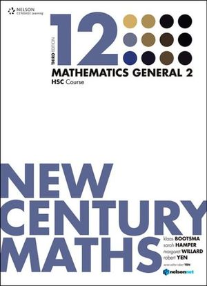 Cover of New Century Maths 12