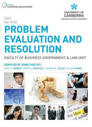 Cover of CP0854- Problem Evaluation and Resolution