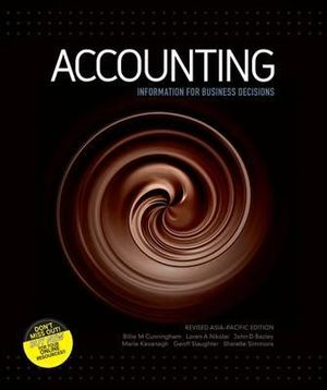 Cover of Accounting : Information for Business Decisions Revised Edition