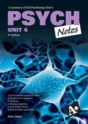 Cover of Psych Notes