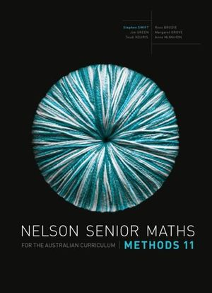 Cover of Nelson Maths Methods 11