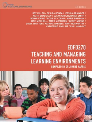 Cover of CP0895 - EDFD270 Teaching and Managing Learning Environments