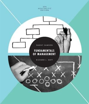 Cover of Fundamentals of Management: Asia Pacific Edition