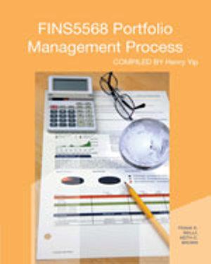 Cover of CP0918 FINS5568 Portfolio Management Process