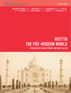Cover of CP0921 HIST110 the Pre-Modern World