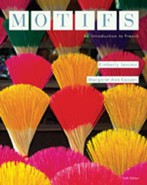 Cover of Bundle: Motifs : An Introduction to French + Student Activity Manual + iLrn  Heinle Learning Center Printed Access Card