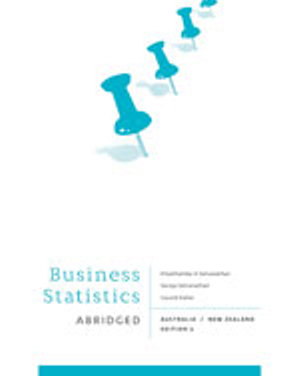 Cover of Bundle: Business Statistics - Abridged  : Australia New Zealand + PP0952 - Learning Statistics and EXCEL in Tandem