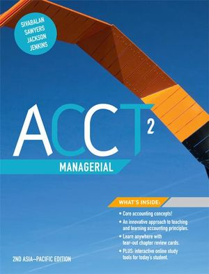 Cover of ACCT2 Managerial