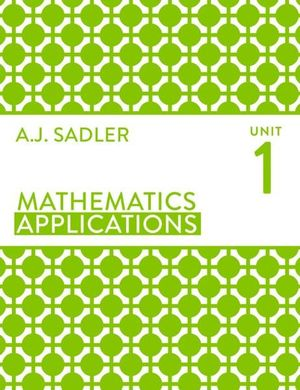Cover of Mathematics Applications