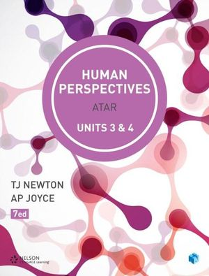 Cover of Human Perspectives Units 3 & 4 ATAR