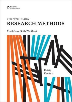 Cover of VCE Psychology Research Methods Key Science Skills Workbook