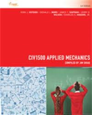 Cover of CIV1500 Applied Mechanics for University of Southern Queensland