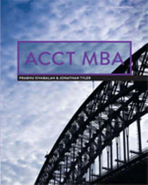 Cover of ACCT MBA for University of Technology, Sydney