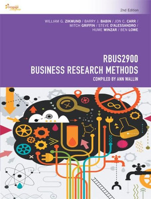 Cover of RBUS2900 Business Research Methods