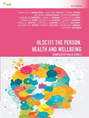 Cover of HLSC111 the Person, Health and Wellbeing