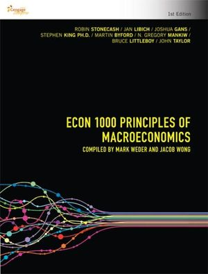 Cover of ECON 1000 Principles of Macroeconomics