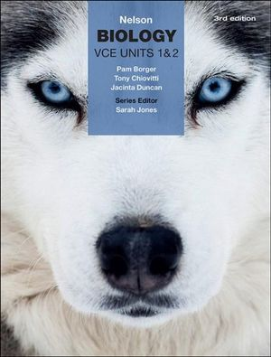 Cover of Nelson Biology VCE Units 1 & 2