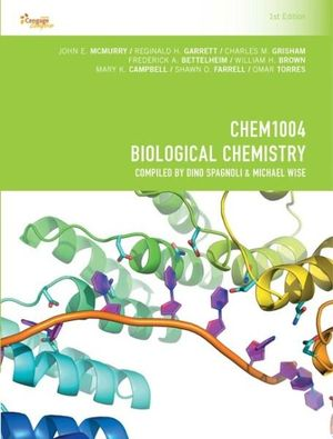 Cover of CP1049 - CHEM1004 Biological Chemistry