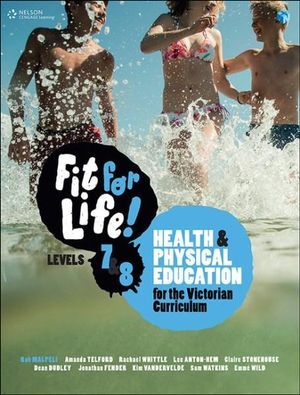 Cover of Fit for Life! for the Victorian Curriculum Years 7 - 8