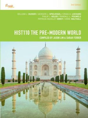 Cover of CP1064 - HIST110 the Pre-Modern World