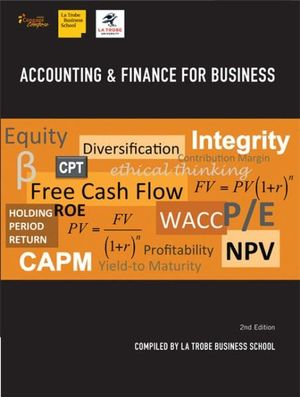 Cover of Accounting & Finance for Business