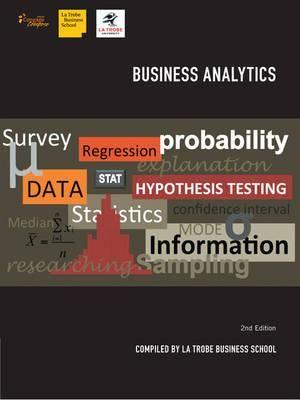 Cover of Business Analytics 2e for La Trobe University