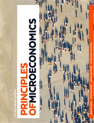 Cover of Principles of Microeconomics: Australia and New Zealand Edition