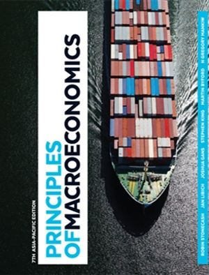 Cover of Principles of Macroeconomics with Student Resource Access 12 Months