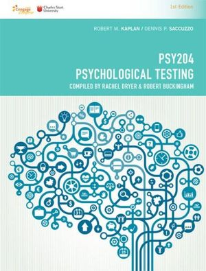 Cover of CP1083 - PSY204 Psychological Testing