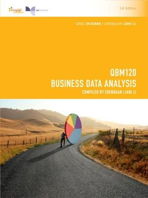 Cover of QBM120 Business Data Analysis 1E for Charles Sturt University