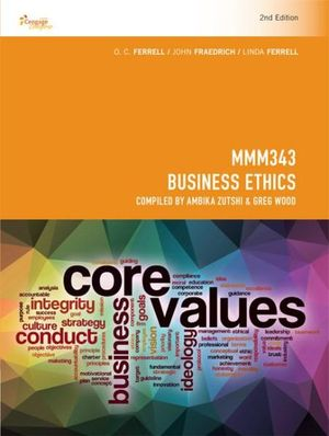 Cover of CP1087 - MMM343 Business Ethics