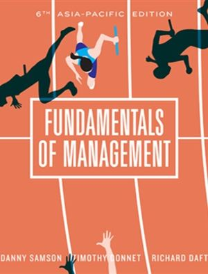 Cover of Fundamentals of Management with Student Resource Access 12 Months
