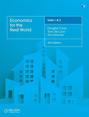 Cover of Economics in the Real World Units 1 & 2