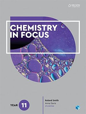 Cover of Chemistry in Focus Year 11
