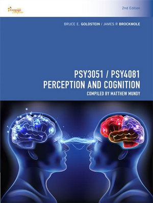 Cover of CP1139 - PSY3051 / PSY4081 Perception and Cognition