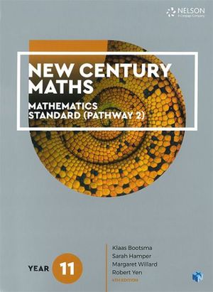 Cover of New Century Maths Year 11