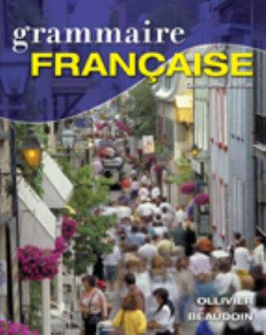 Cover of Grammaire française
