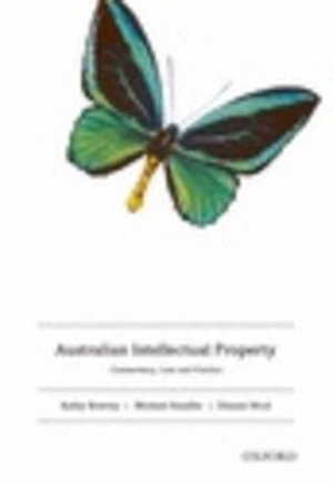 Cover of Australian Intellectual Property & Emerging Issues in Intellectual Property Valu