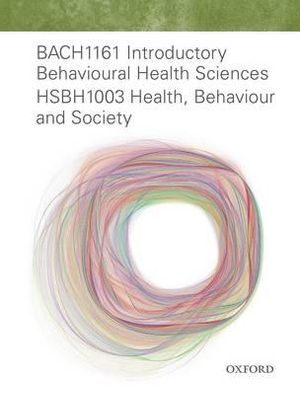 Cover of BACH1161 Intro Behavioural Health Sci HSBH1003 Health, Behaviour and Society