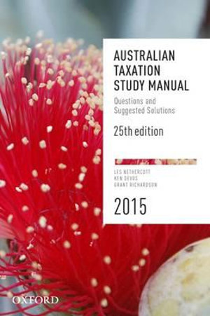 Cover of Australian Taxation Study Manual