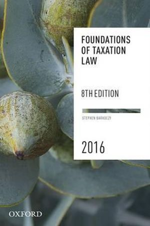 Cover of Foundations of Taxation Law 2016