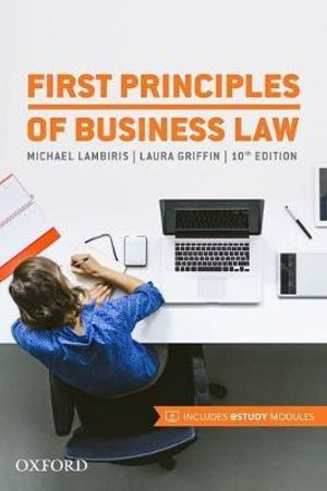 Cover of First Principles of Business Law 2017
