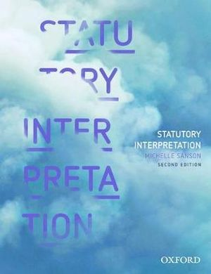 Cover of Statutory Interpretation, 2nd Ed.