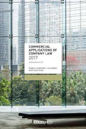 Cover of Commercial Applications of Company Law 2017