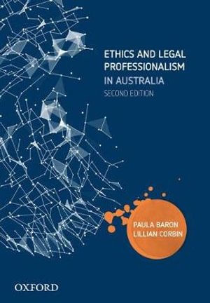 Cover of Ethics and Legal Professionalism in Australia